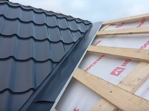 Как правильно сделать ендову на крыше