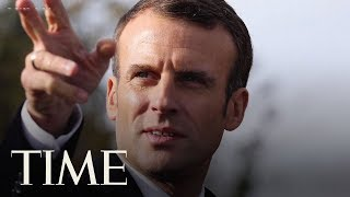 French President Calls For A 'European Army' To Defend Against China, Russia And The U.S. | TIME