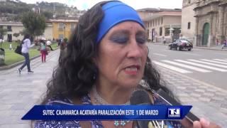 Baixar SUTEC Cajamarca acataría paralización este 1 de marzo