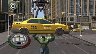 Прохождение игры Невероятный Халк/The Incredible Hulk часть 3