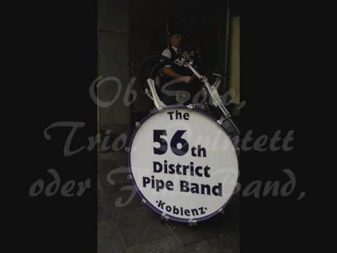 56th District Pipe Band / Sie sind Schottland-Fan?