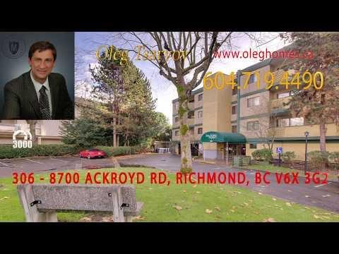 2 bedroom condo @ 306 8700 Ackroyd Rd listed by REALTOR® Oleg Tsaryov Team 3000 Realty