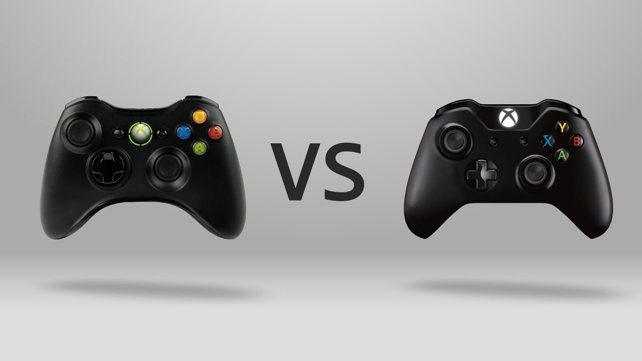 xbox one vs xbox 360 controller youtube. Black Bedroom Furniture Sets. Home Design Ideas