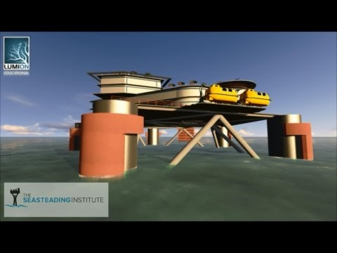 Medical Offshore Research Facility - The Seasteading Institute - Univ Houston School of Architecture