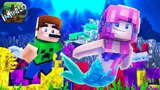 FUI SEDUZIDO POR UMA SEREIA !! Minecraft Infinito #01