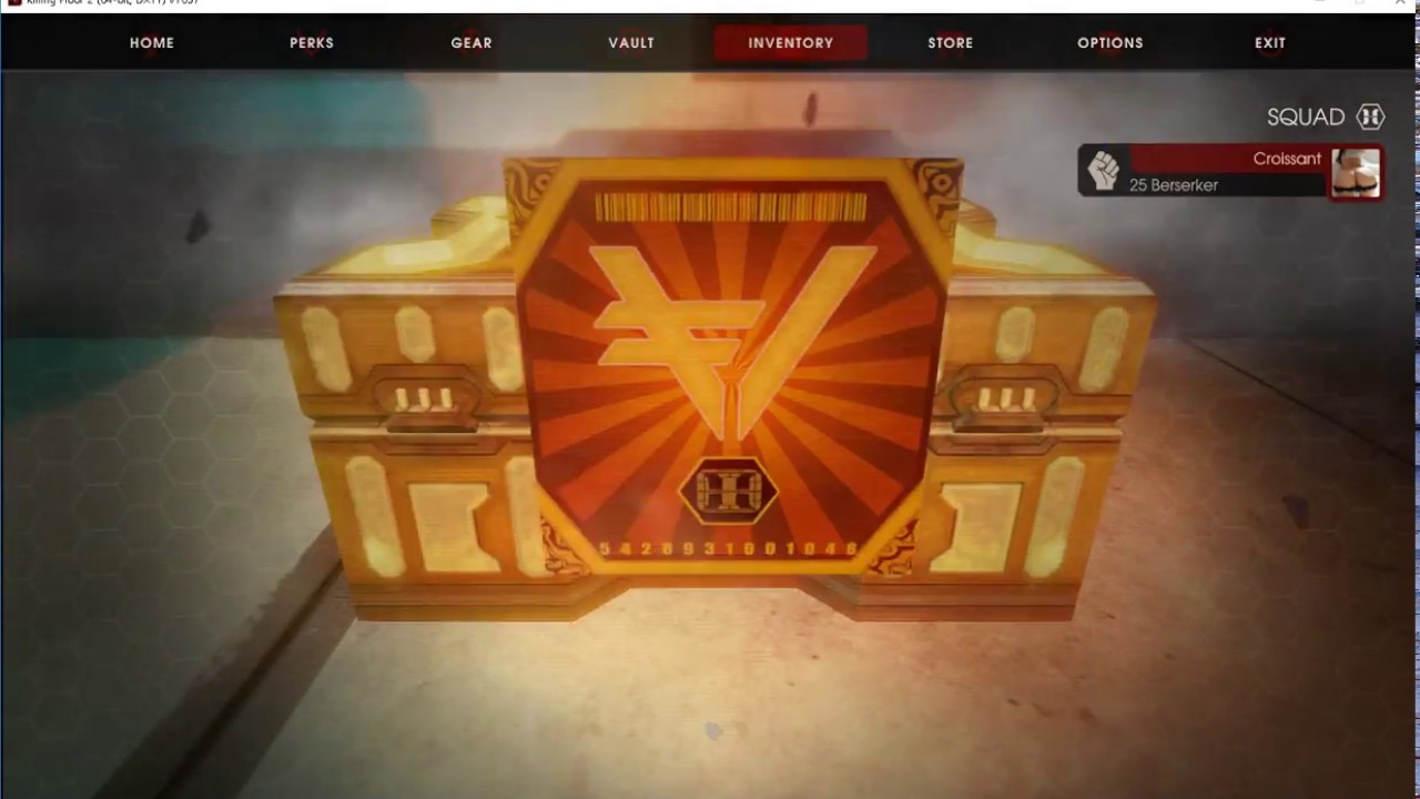 Killing Floor 2 Unboxing Dosh Vault Unlocked Crate 1