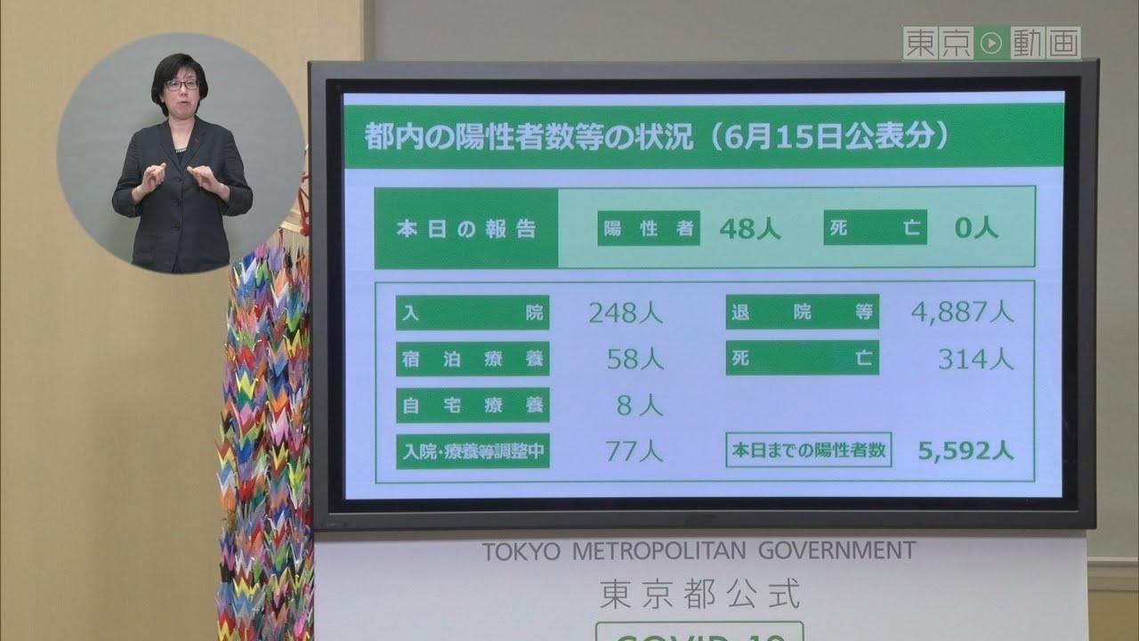 者 数 感染 東京 の コロナ ウイルス
