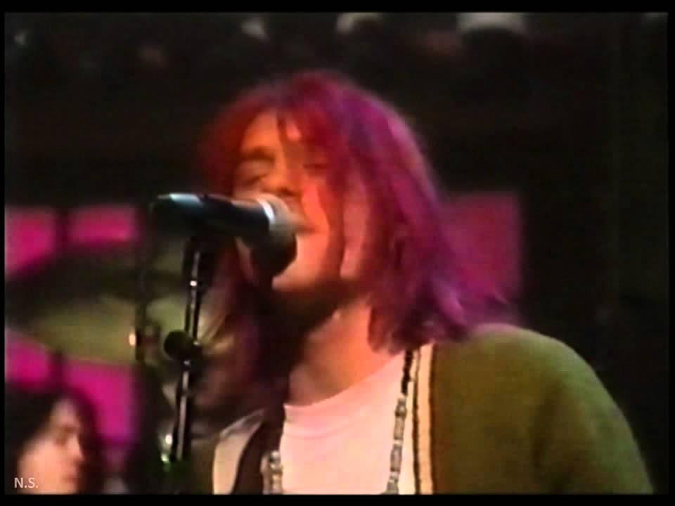 Nirvana - Drain You - MTV studios 01/10/92