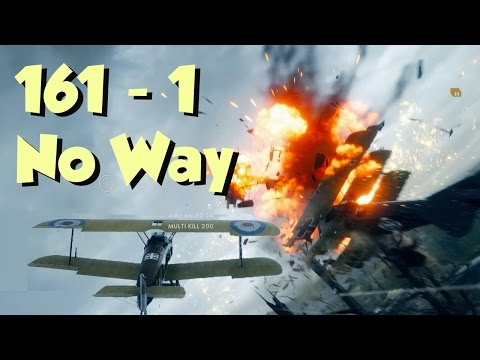 Is Trench Fighter the BEST Plane? - Such a CLOSE GAME - Battlefield 1