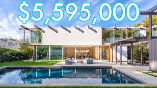 Inside a Brand New Construction MID CENTURY MODERN home in BEL AIR