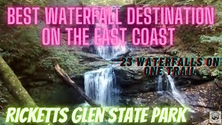 Most Awesome waterfalls on the East Coast! Ricketts Glen, PA