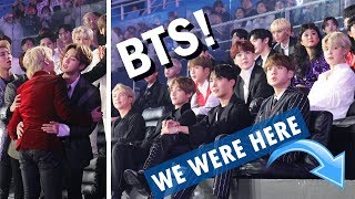 What it's REALLY like to attend a Korean music awards show! CLOSE BTS FOOTAGE!