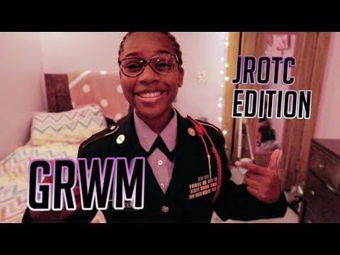 JROTC MORNING ROUTINE!! | GRWM