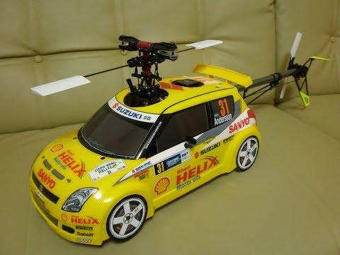TAMIYA SUZUKI SWIFT SUPER Helico - YouTube