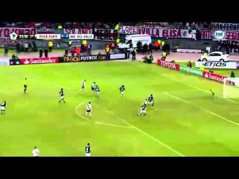 Gols:River plate 1x0 Ind.del valle 04/05/16