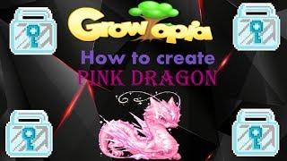 Growtopia | Wie erstelle ich den Rosa Drachen!!!! :O