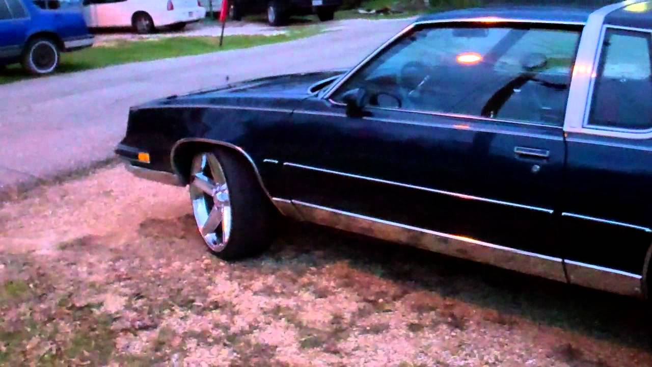 My 86 Cutlass With 22 Iroc Rims For Sale 6500 Youtube