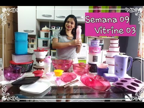 Abrindo Caixa Tupperware Semana 09 Vitrine 03 Youtube