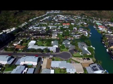 West Marina Hawaii Kai Aerial Video