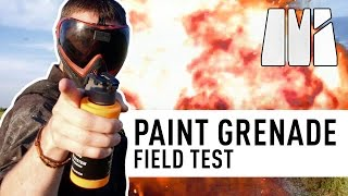Paint Grenades Field Test - Revisited