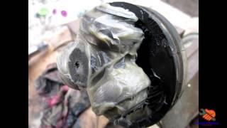Замена внутреннего ШРУСа / замена гранаты TOYOTA CORONA  ST 190 (CARINA E)