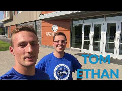 Tour Athletics Facilities With Tom And Ethan: The University Of New England