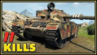 Centurion Action X - 11 Kills - World of Tanks Gameplay