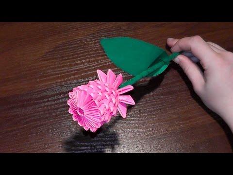Модульное оригами. Корзинка.(3D origami)