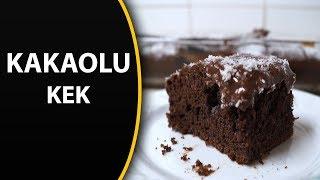 Kakaolu kek tarifi (Pudingli)