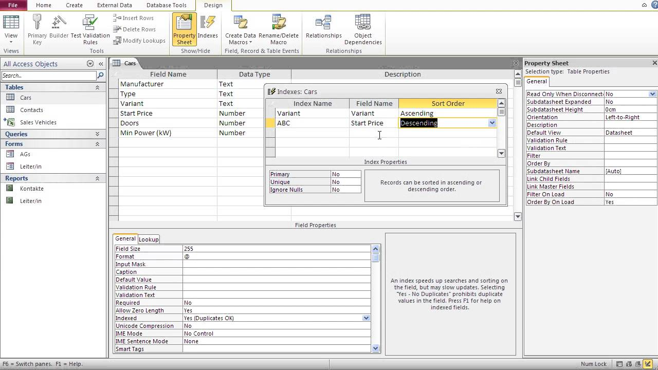 Databases with Microsoft Access 10