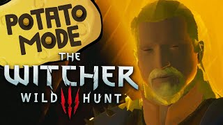 The Witcher 3's Lowest Settings Are An Existential Nightmare | Potato Mode thumbnail