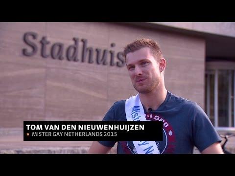'Zo blij!', Tom van den Nieuwenhuijzen is Mister Gay Netherlands 2015