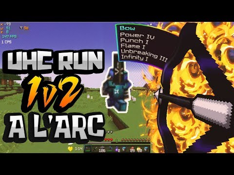 1v2 AVEC UN ARC CHEAT ! | UHC RUN Défi #2