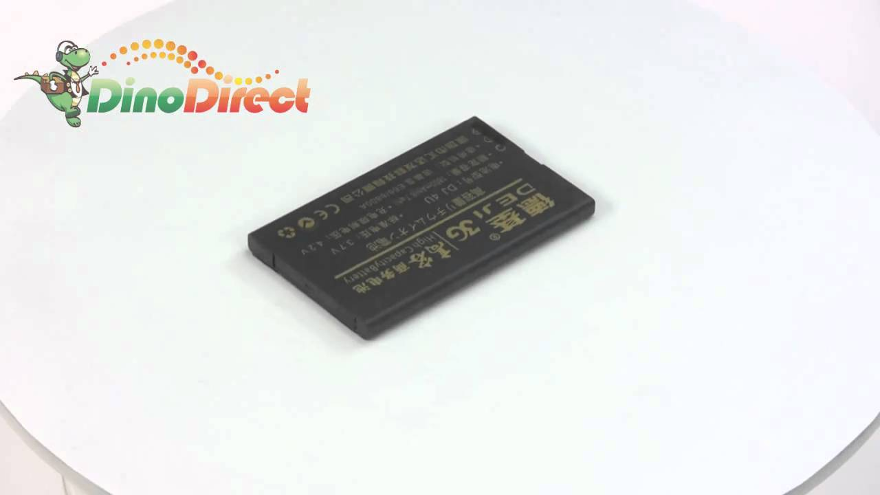Аккумулятор BL-4U для Nokia - 1200 mAh - Craftmann - YouTube
