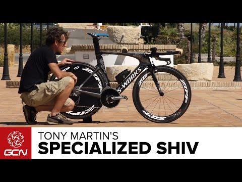 Tony Martin's Specialized S-Works Shiv   Vuelta A Espana 2014