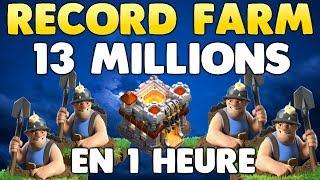 Clash of Clans - RECORD FARM HDV11 - 13 MILLIONS !! FARM MINEUR