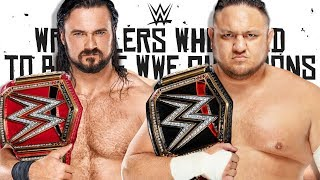 7 WWE Wrestlers Who Need To Win A World Championship in 2019!
