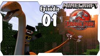 Minecraft Jurassic Park #1: Vamos Criar o Parque de Dinossauros da #LofS [Dino Cube]