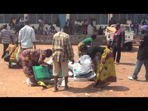 CAR: Food Distributions Resume at Bangui Airport