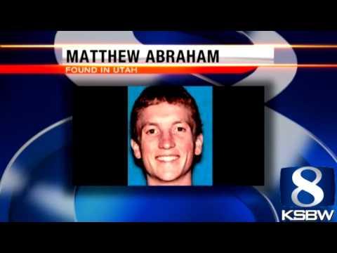 Missing Scotts Valley man Matt Abraham found in Utah
