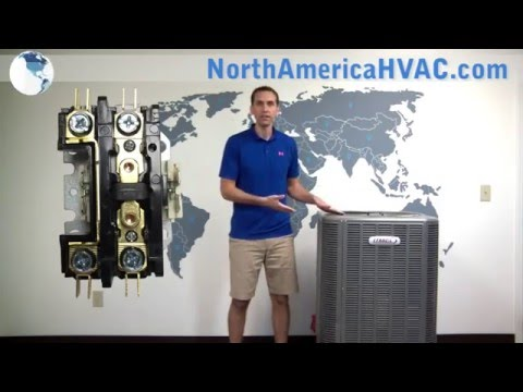 How to replace a Contactor Relay - HVAC A/C Contactor Replacement