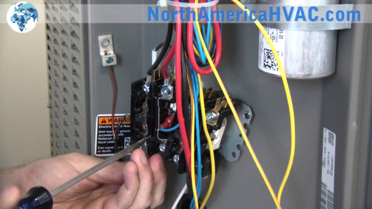 power relay wiring diagram of 6 wicket croquet how to replace a contactor hvac c replacement