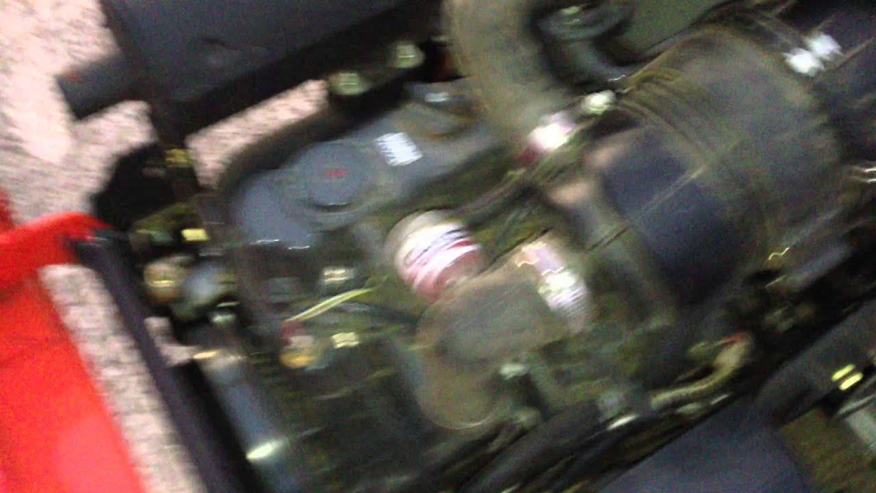 Kubota 3 Cylinder Diesel at Idle - YouTube