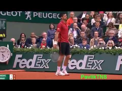 Novak Djokovic vs Andy Murray | Highlights Final Roland Garros 2016
