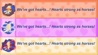 Repeat youtube video hearts as strong as horses lyrics