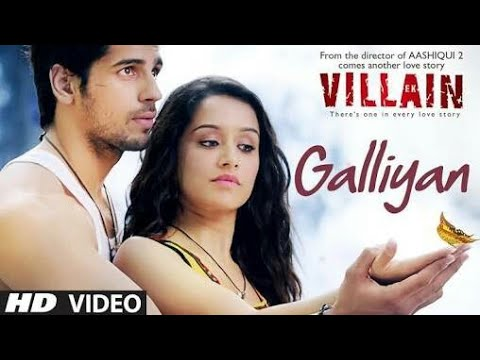 Galliyan ek villain (2014) official video song [hd 720p.