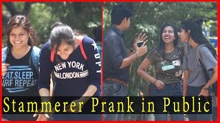 Stammerer Prank (तोतला ) Prank on Public - Prank In India 2017 | THF - Ab Mauj Legi Dilli