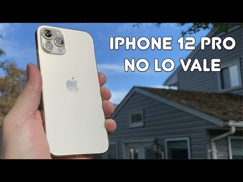 El iPhone 12 PRO NO VALE LA PENA, se los EXPLICO