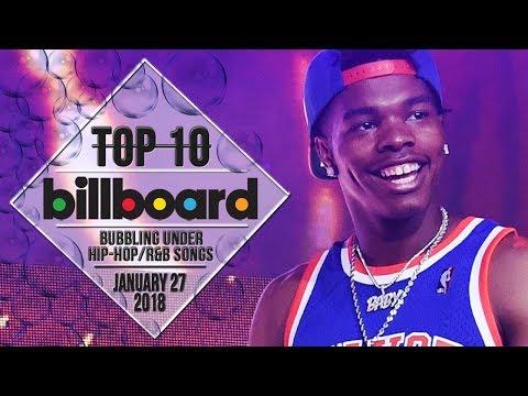 Top 10 • US Bubbling Under Hip-Hop/R&B Songs • January 27, 2018 | Billboard-Charts