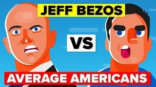 JEFF BEZOS vs AVERAGE AMERICAN - How Do You Compare? | People vs Celebrity Comparison